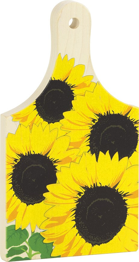 "Sunflower 9"" Cutting Board - Heart of the Home PA"