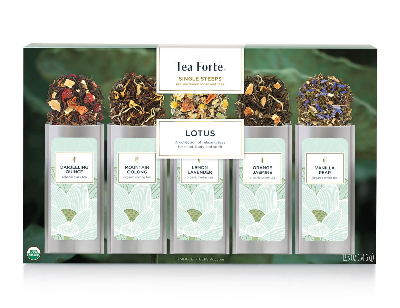 Lotus Single Steeps Loose Tea - Heart of the Home PA