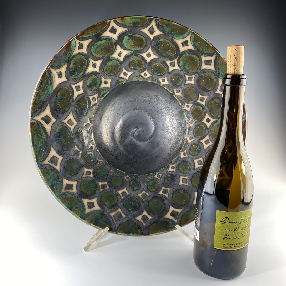 Large Platter with Lip - Heart of the Home PA
