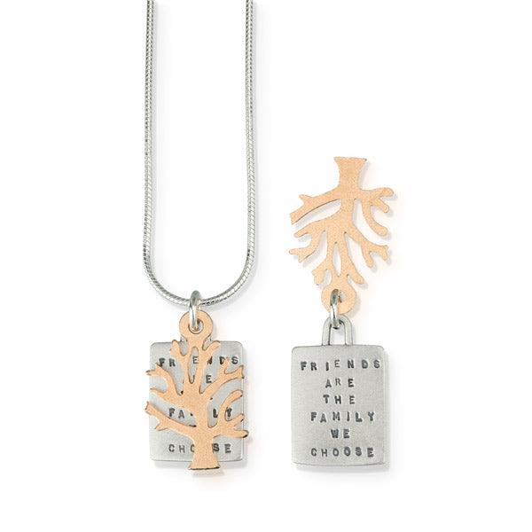 Friends Are The Family We Choose Pendant - Heart of the Home PA