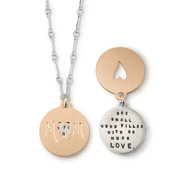 Mom - One Small Word... Pendant - Heart of the Home PA