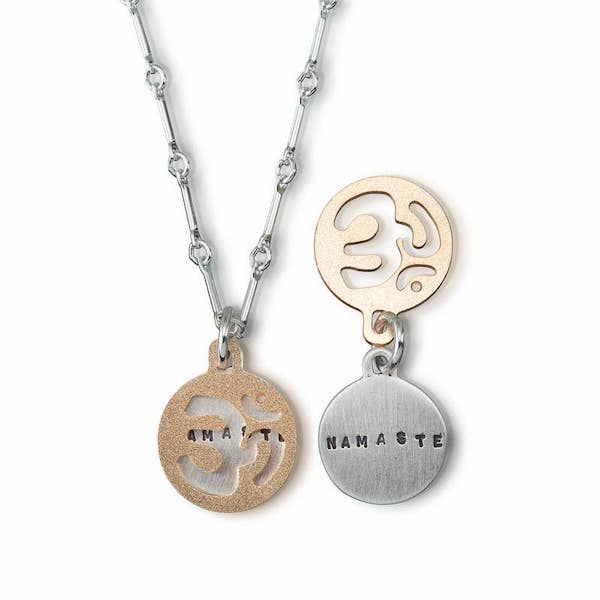 Om Namaste Pendant - Heart of the Home PA