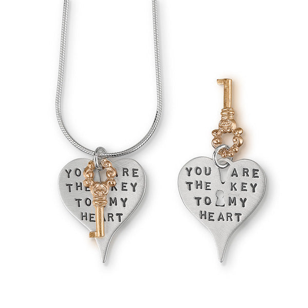 You Are The Key To My Heart Pendant