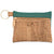 Key Chain Cork Pouch with Peridot Green - Heart of the Home PA
