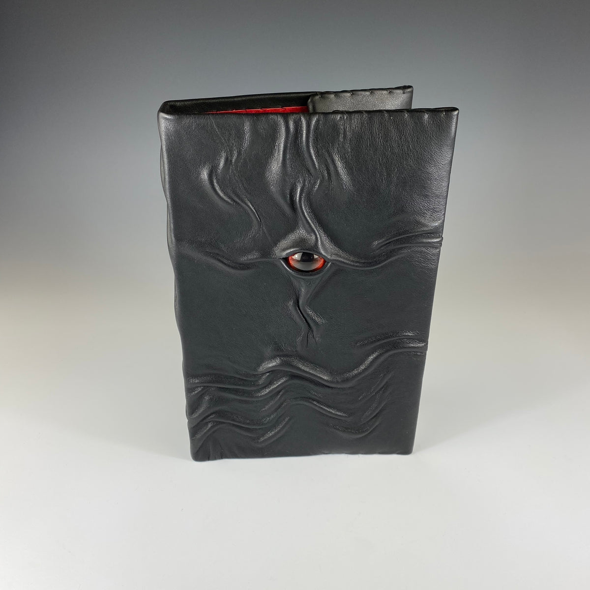 Medium Leather Journal with Eye on Cover - Heart of the Home PA