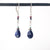 Lapis Droplet Earrings - Heart of the Home PA