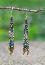 Load image into Gallery viewer, Large Fringe Earrings
