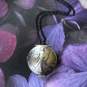 Walking Liberty Locket