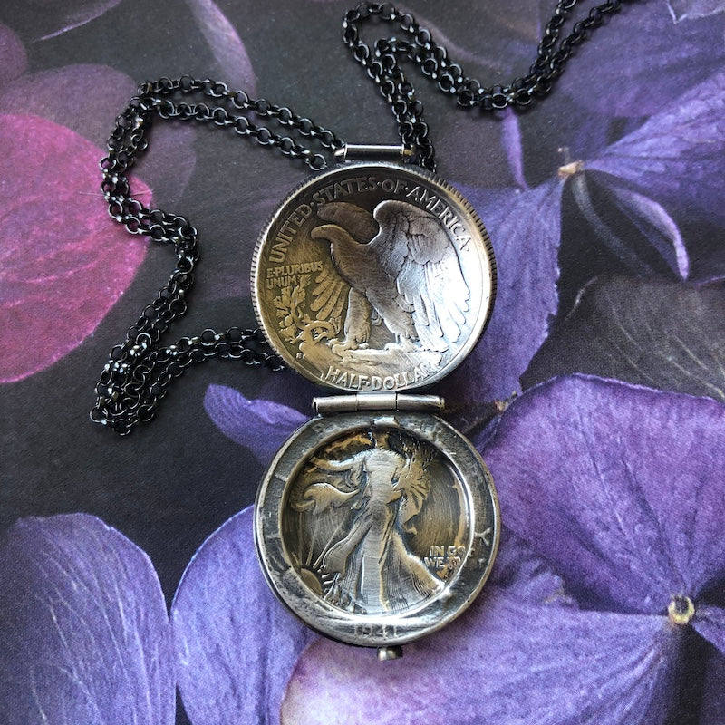 Walking Liberty Locket - Heart of the Home PA
