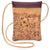 Lively Mini Cork Bag in Purple Print Front - Heart of the Home PA