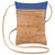 Lively Mini Cork Bag with Royal Blue - Heart of the Home PA