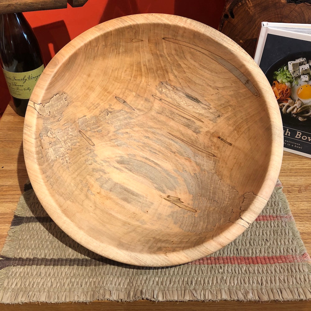 Medium Traditional Maple Bowl #1 - Heart of the Home PA