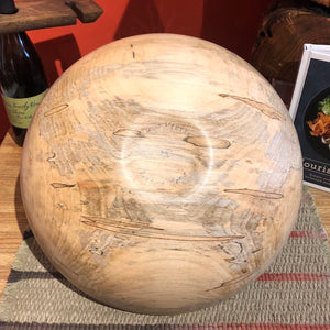 Medium Traditional Maple Bowl #1
