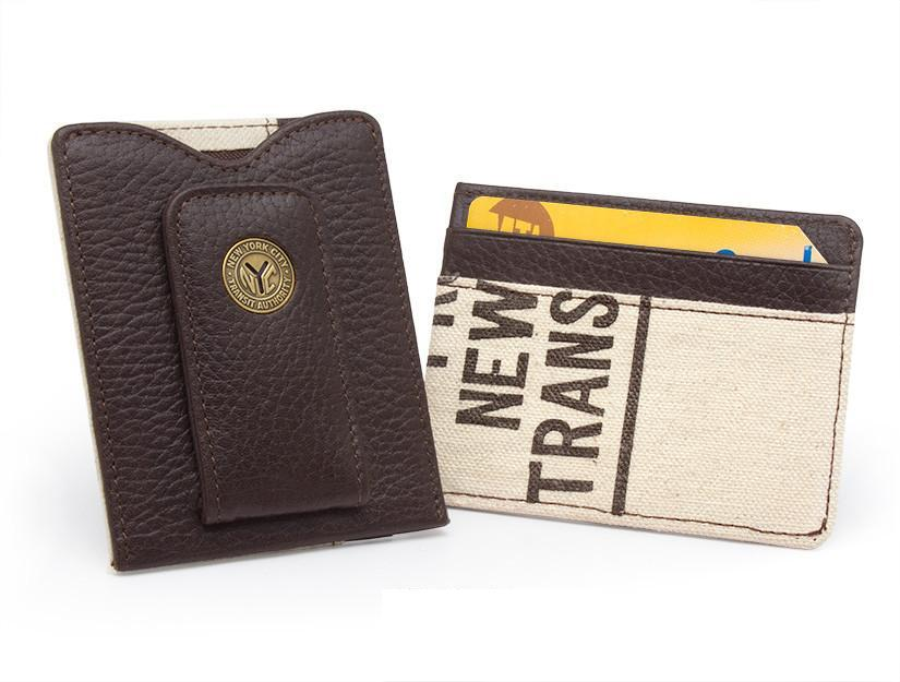 New York Transit Token And Bag Money Clip Wallet - Heart of the Home PA