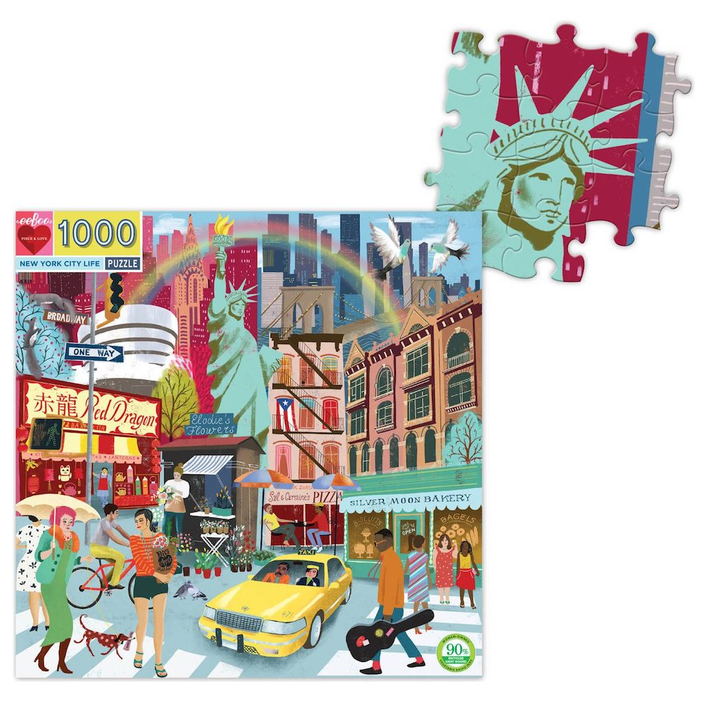 New York City Life 1000 Piece Puzzle - Heart of the Home PA