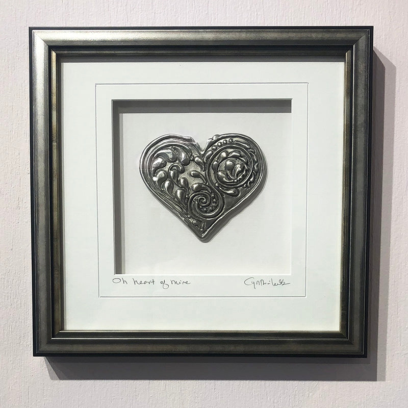 Oh Heart of Mine Framed Wall Art - Heart of the Home PA