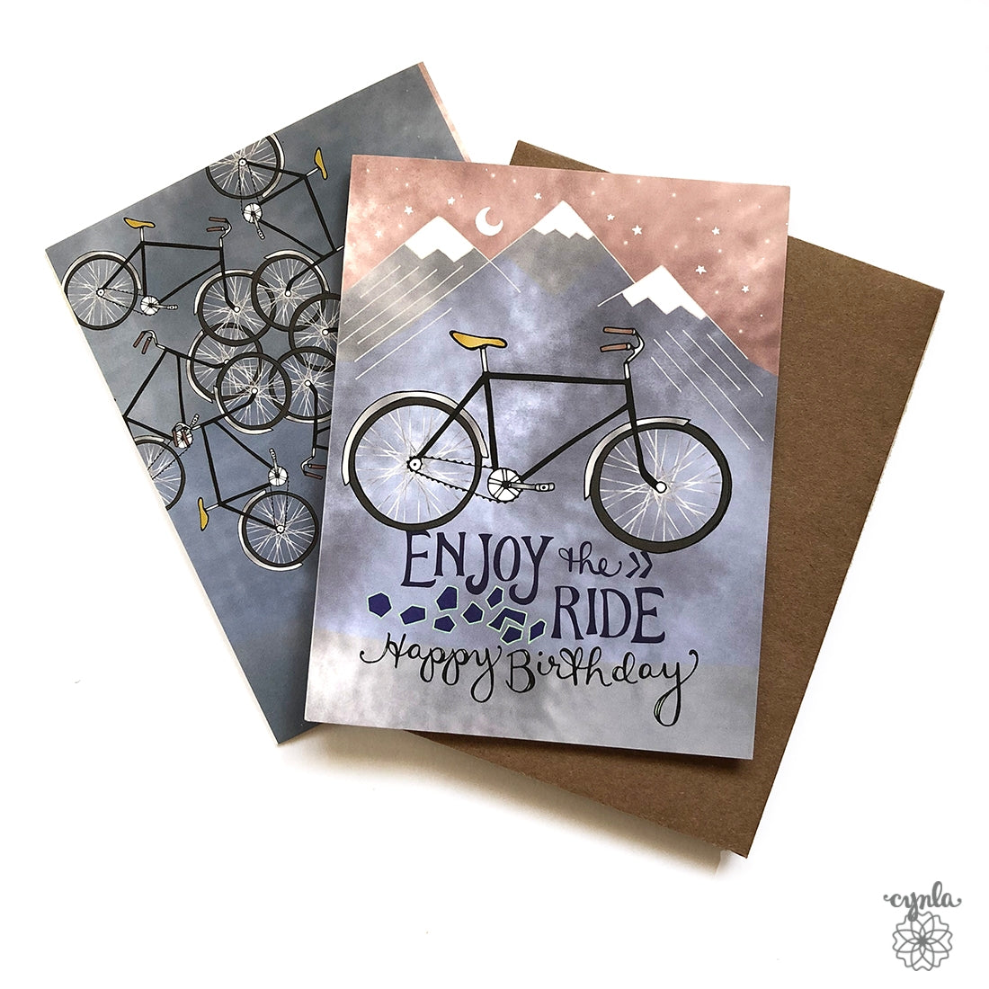Bicycle Birthday Card - Heart of the Home PA