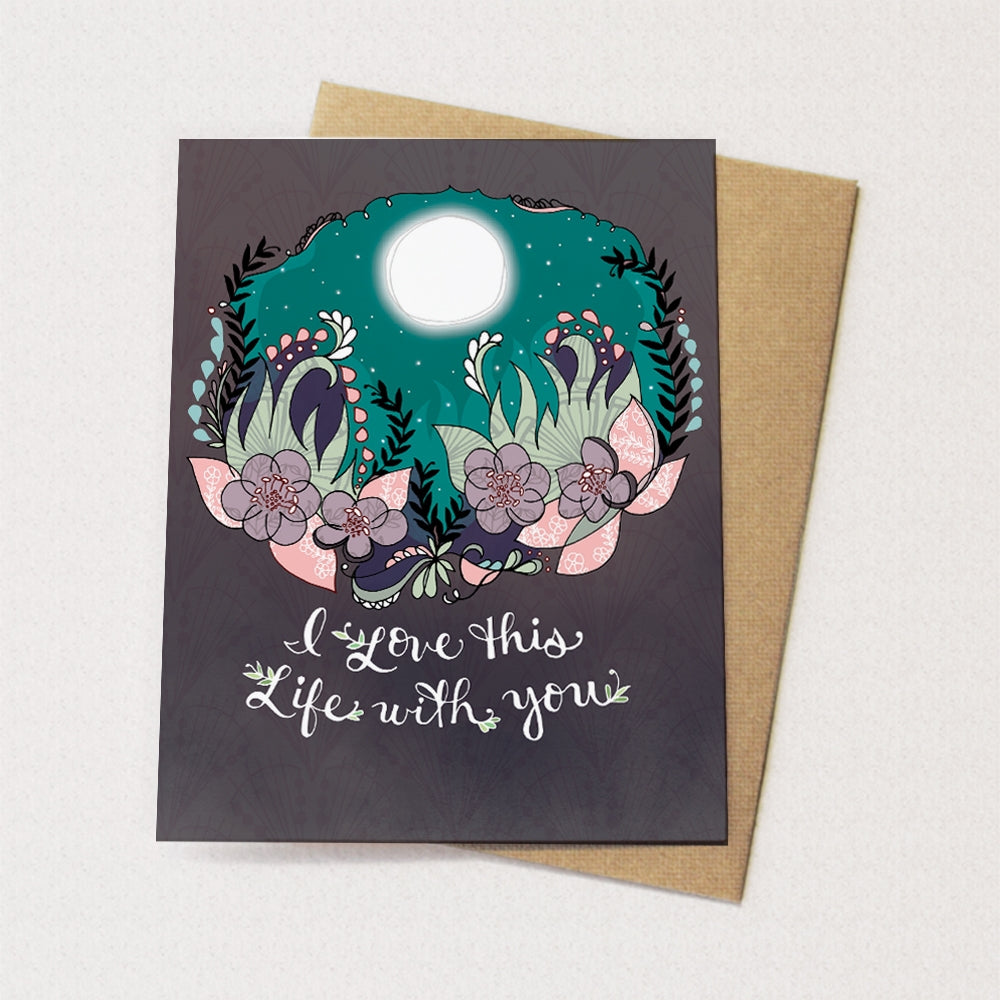 Love Life With You Card - Heart of the Home PA