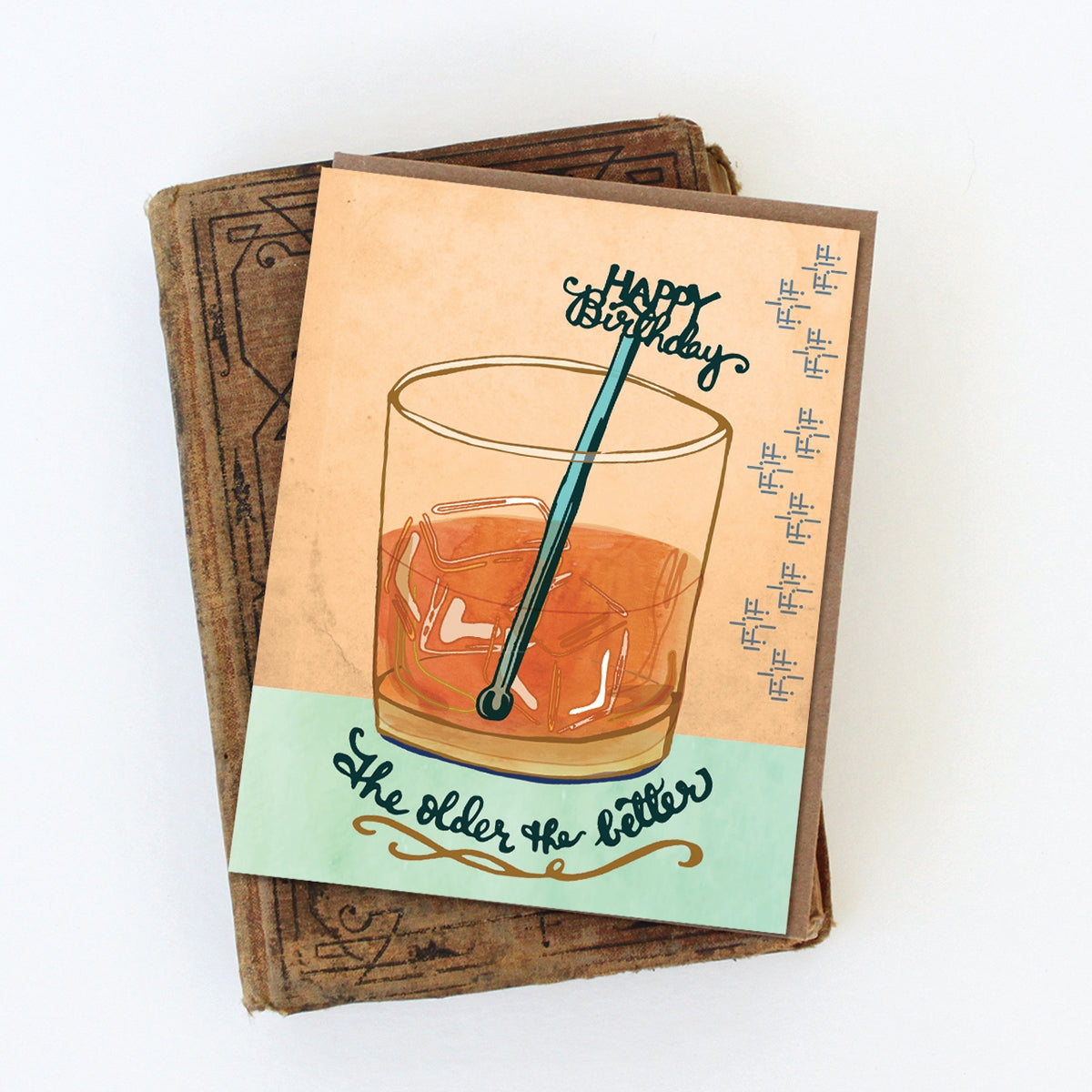 Whiskey Birthday Card - Heart of the Home PA