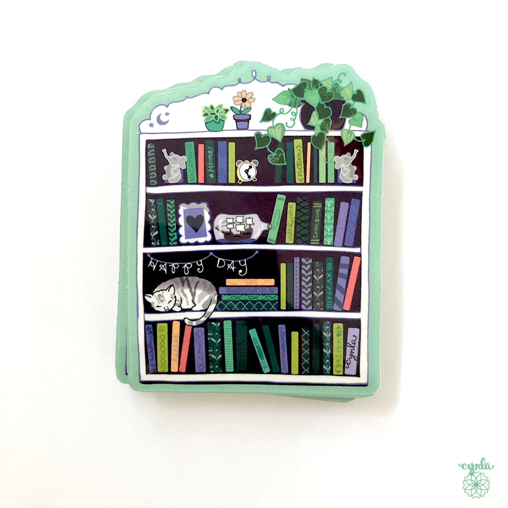 Bookcase Sticker - Heart of the Home PA