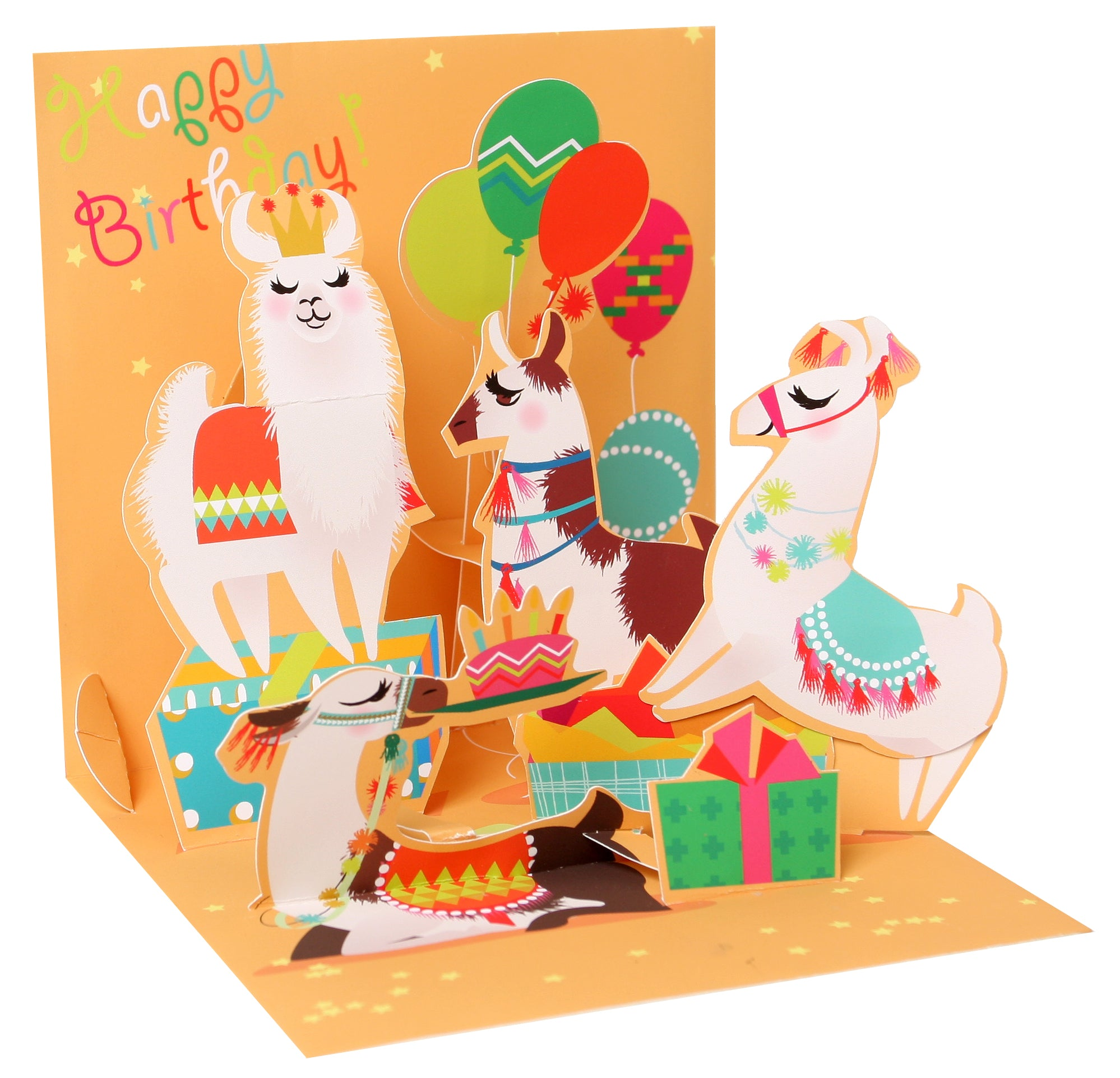 Llama Birthday Pop-Up Card - Heart of the Home PA