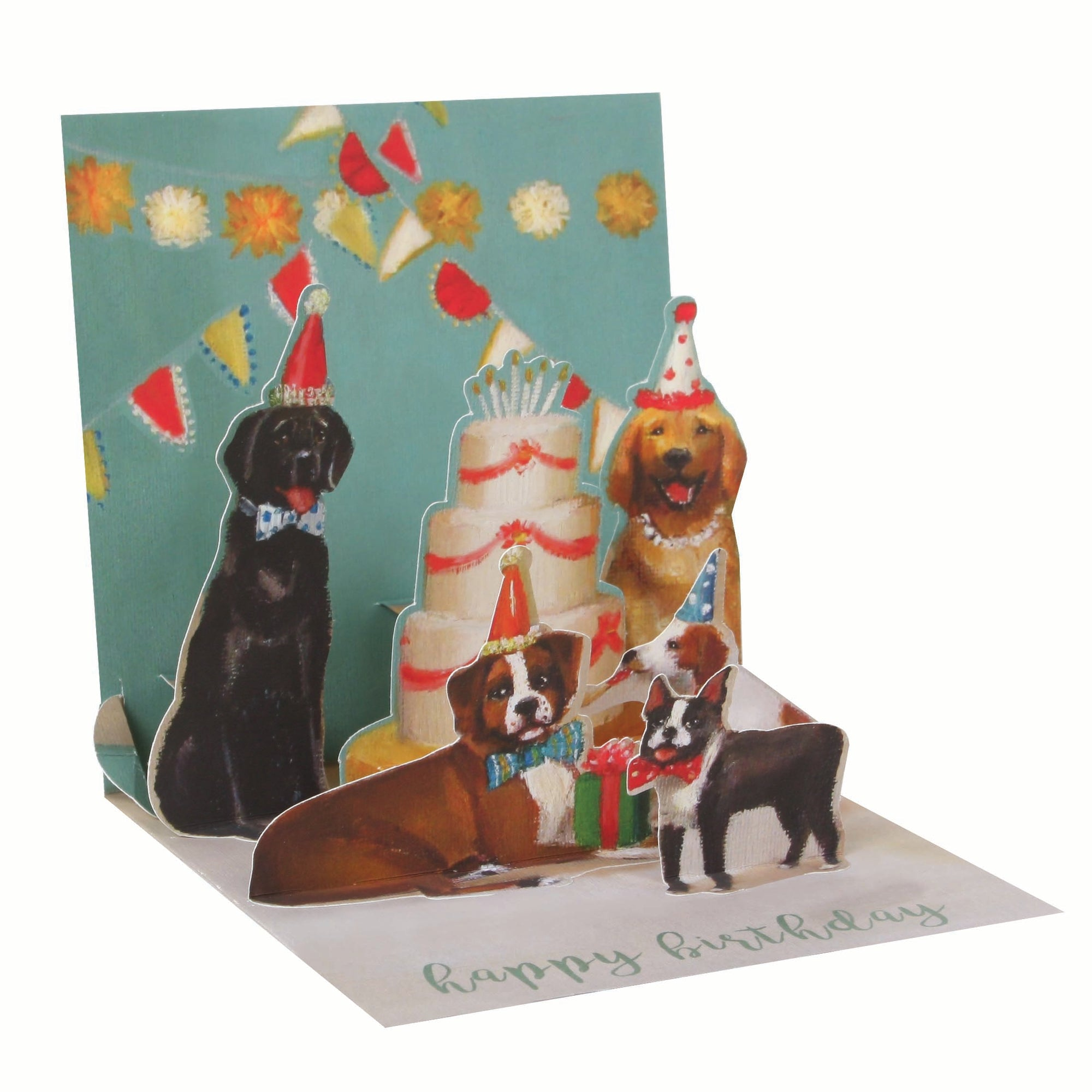Dogs and Cake Pop-Up Card - Heart of the Home PA