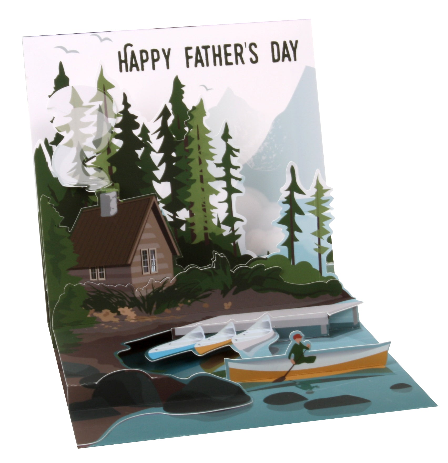 Great Adventurer Pop-Up Card - Heart of the Home PA