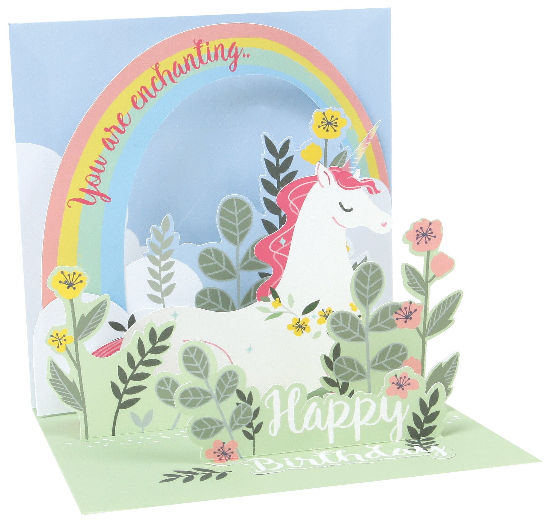Lit Unicorn Pop-Up Card - Heart of the Home PA