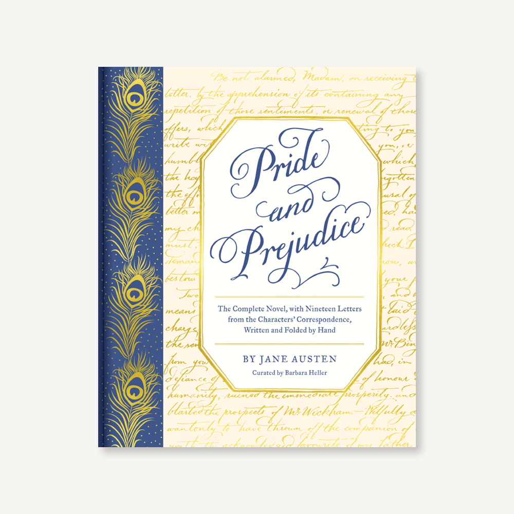 Pride & Prejudice with Letters - Heart of the Home PA