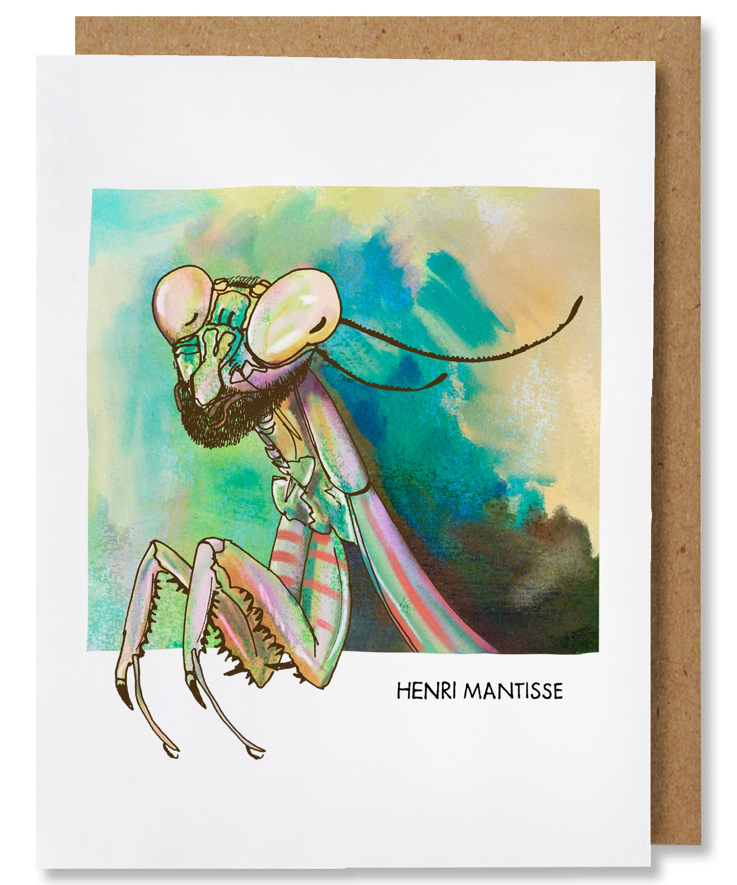 Henri Mantisse Greeting Card - Heart of the Home PA