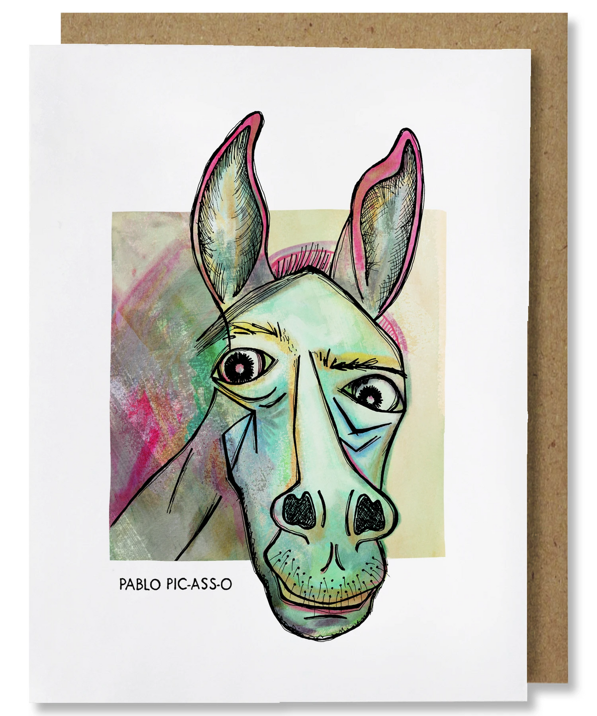 Pablo Picasso Greeting Card - Heart of the Home PA