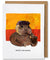 Vincent Van Gopher Greeting Card - Heart of the Home PA