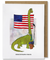Barachisaurus Obama Greeting Card - Heart of the Home PA