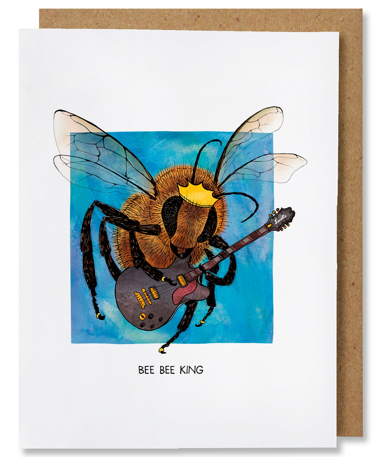 Beebee King Greeting Card - Heart of the Home PA