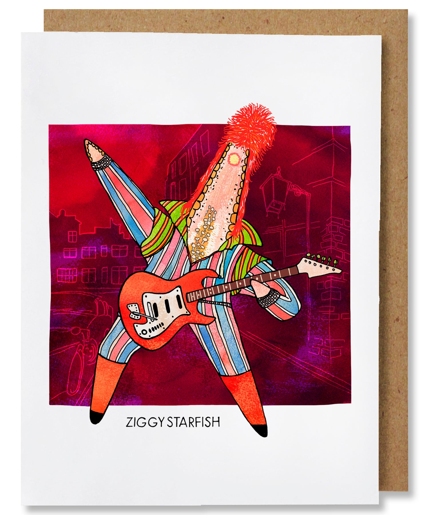 Ziggy Starfish Greeting Card - Heart of the Home PA