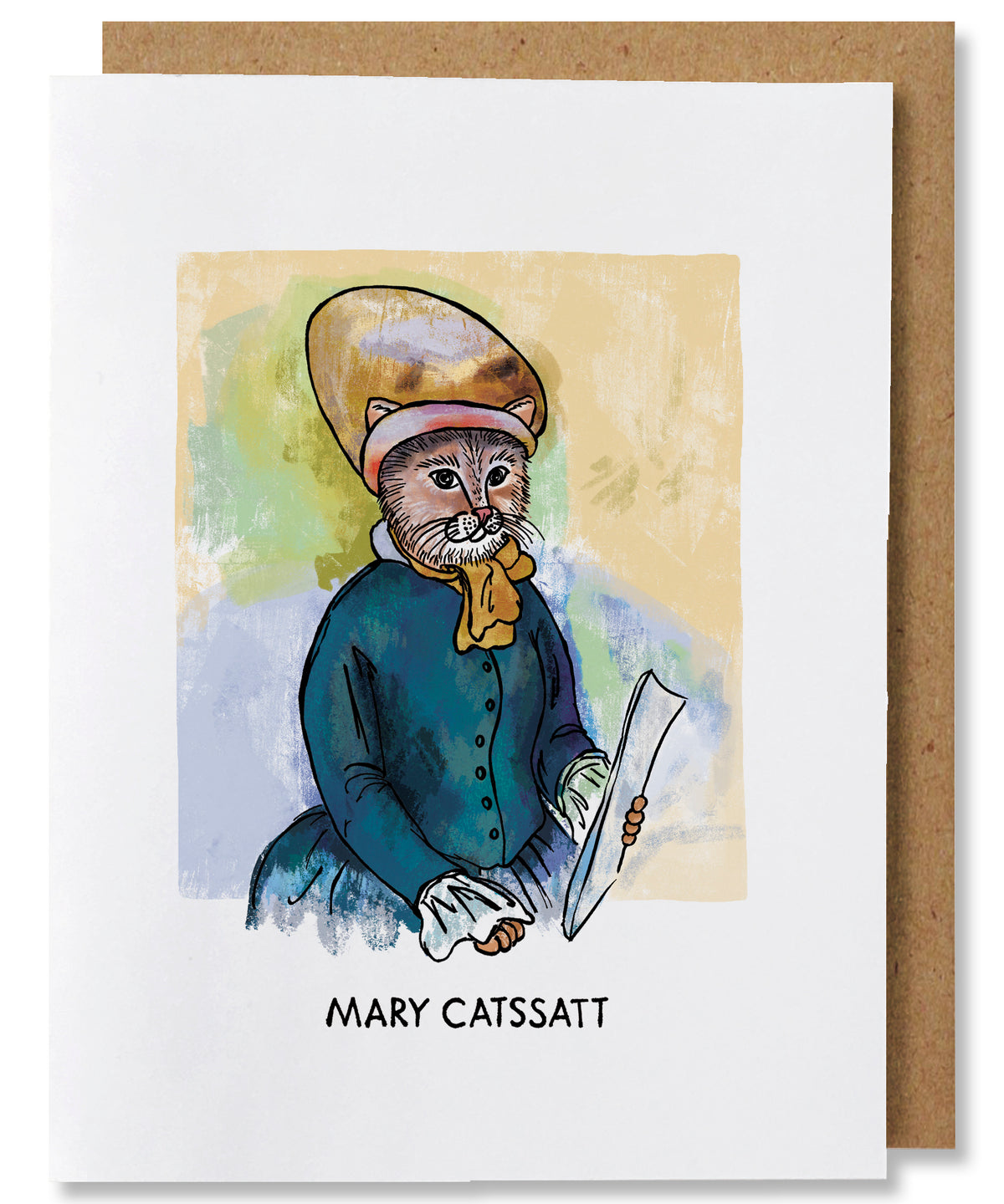 Mary Catsatt Greeting Card - Heart of the Home PA