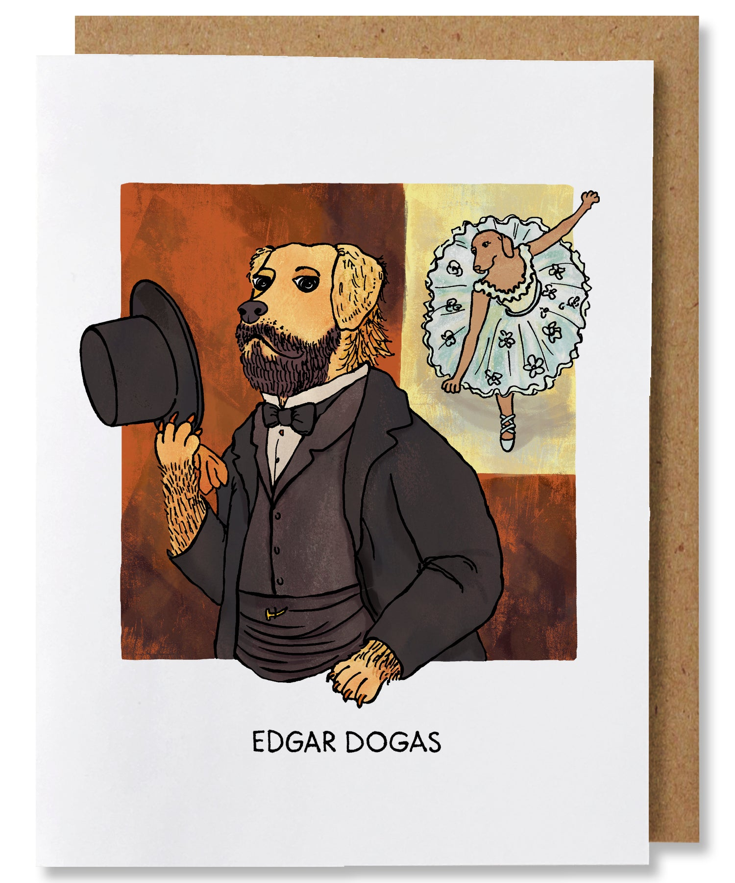 Edgar Dogas Greeting Card - Heart of the Home PA