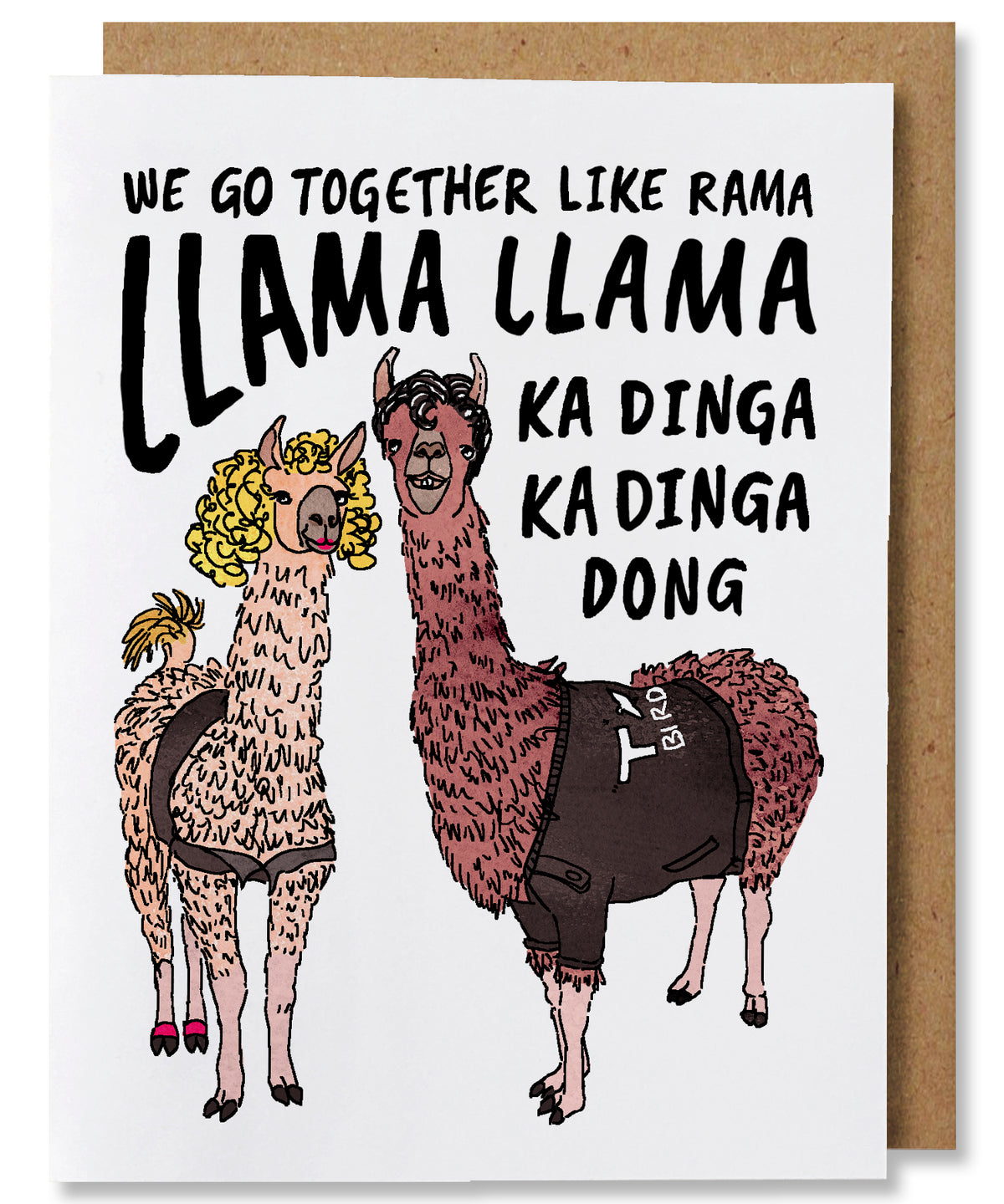 Llama Llama Greeting Card - Heart of the Home PA