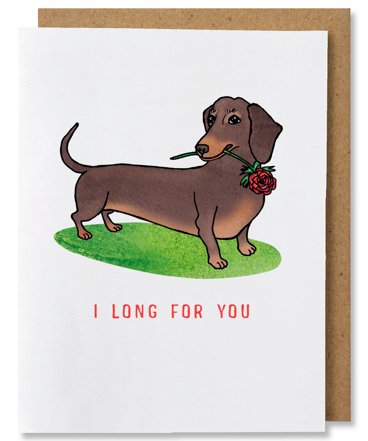 I Long For You Greeting Card - Heart of the Home PA