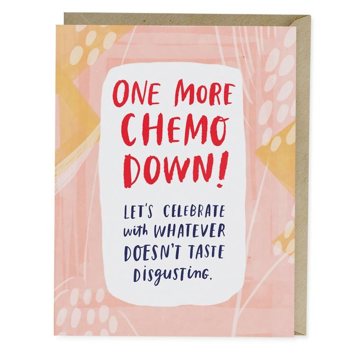 One More Chemo Down Empathy Card - Heart of the Home PA