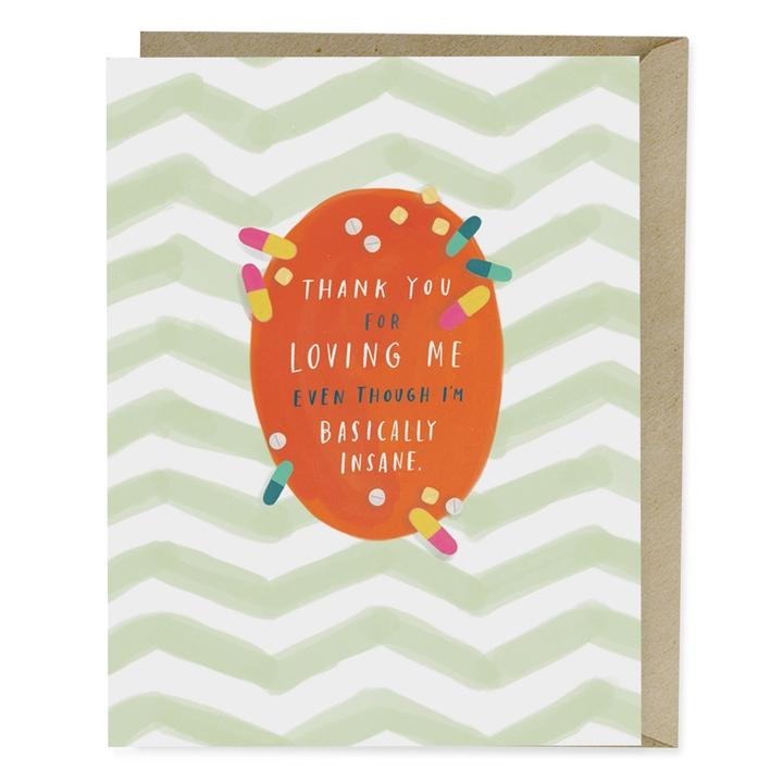 Thank You For Loving Me Card - Heart of the Home PA