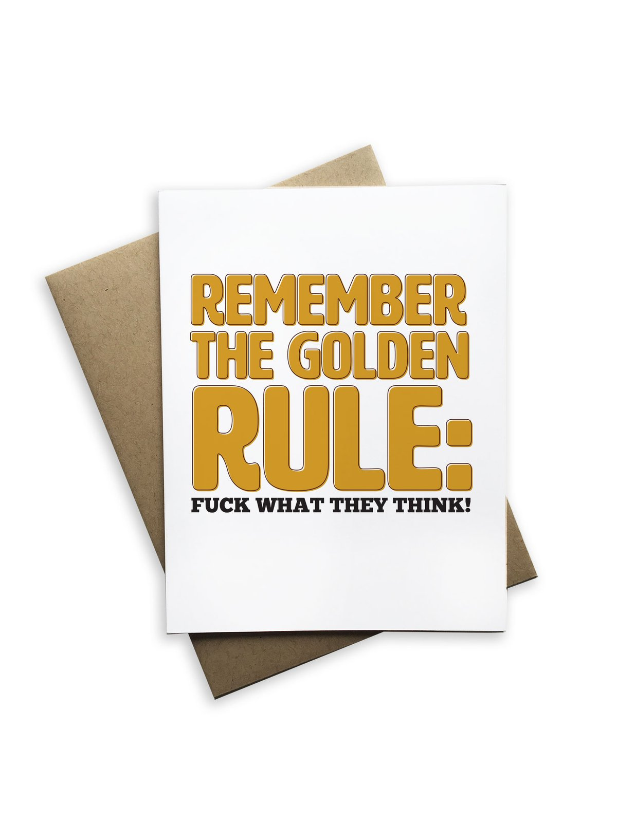 Remember the Golden Rule Notecard - Heart of the Home PA