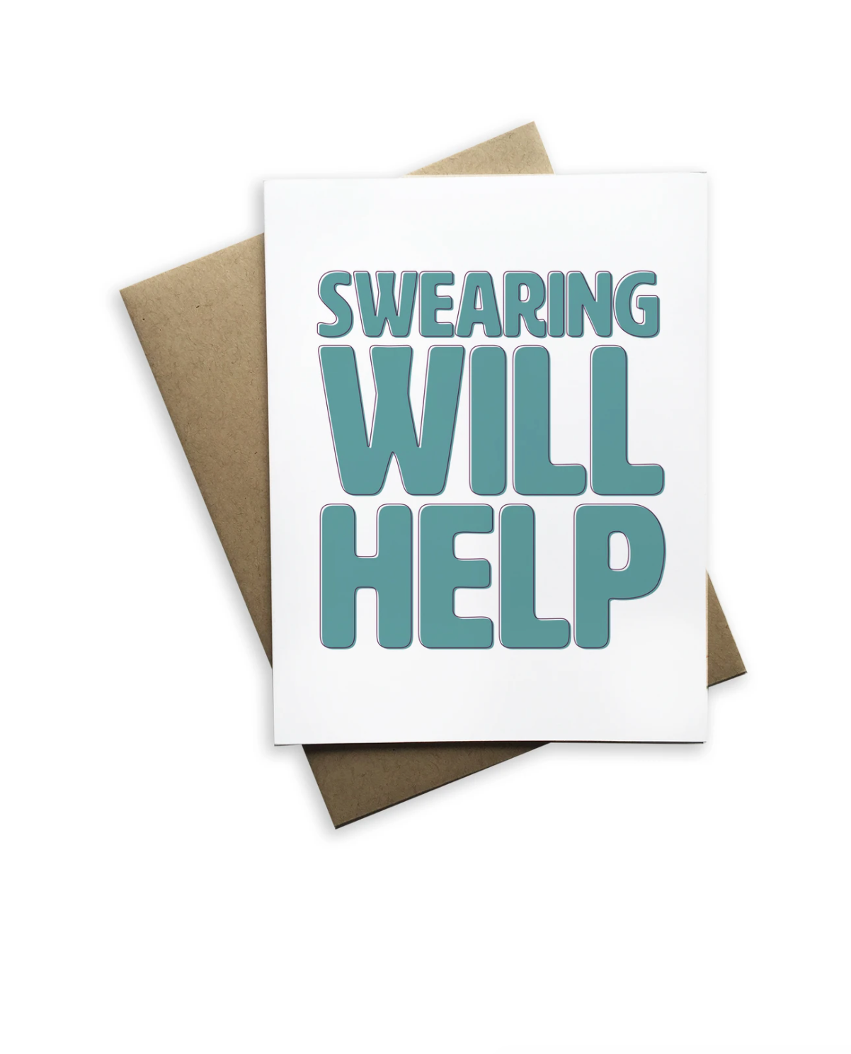 Swearing Will Help Notecard - Heart of the Home PA