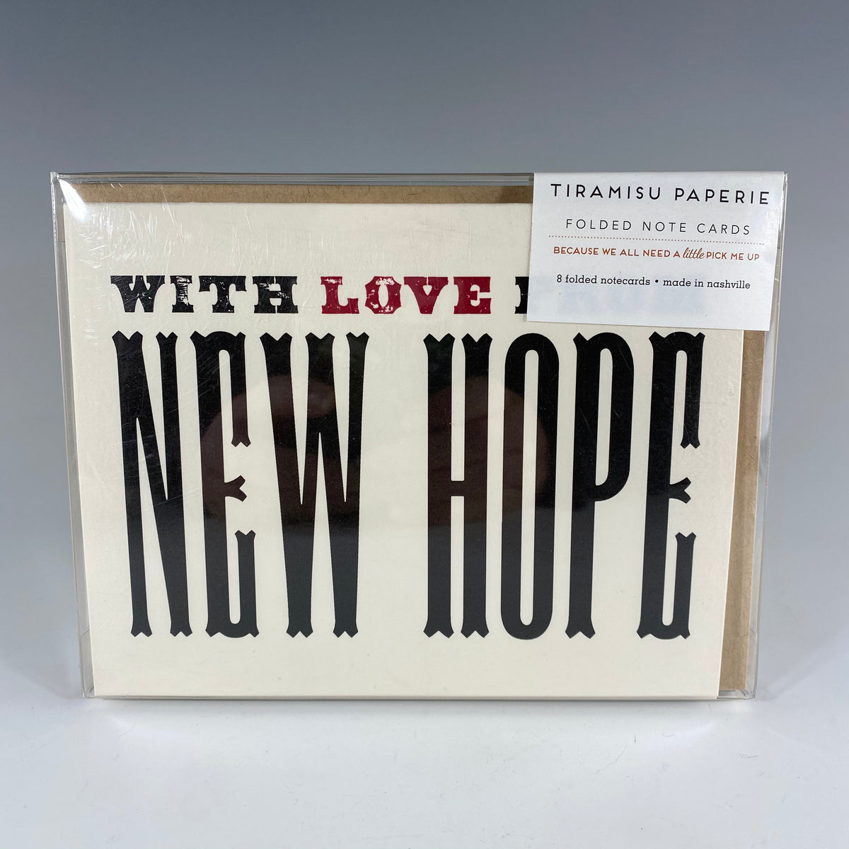 With Love from New Hope Notecard Set - Heart of the Home PA