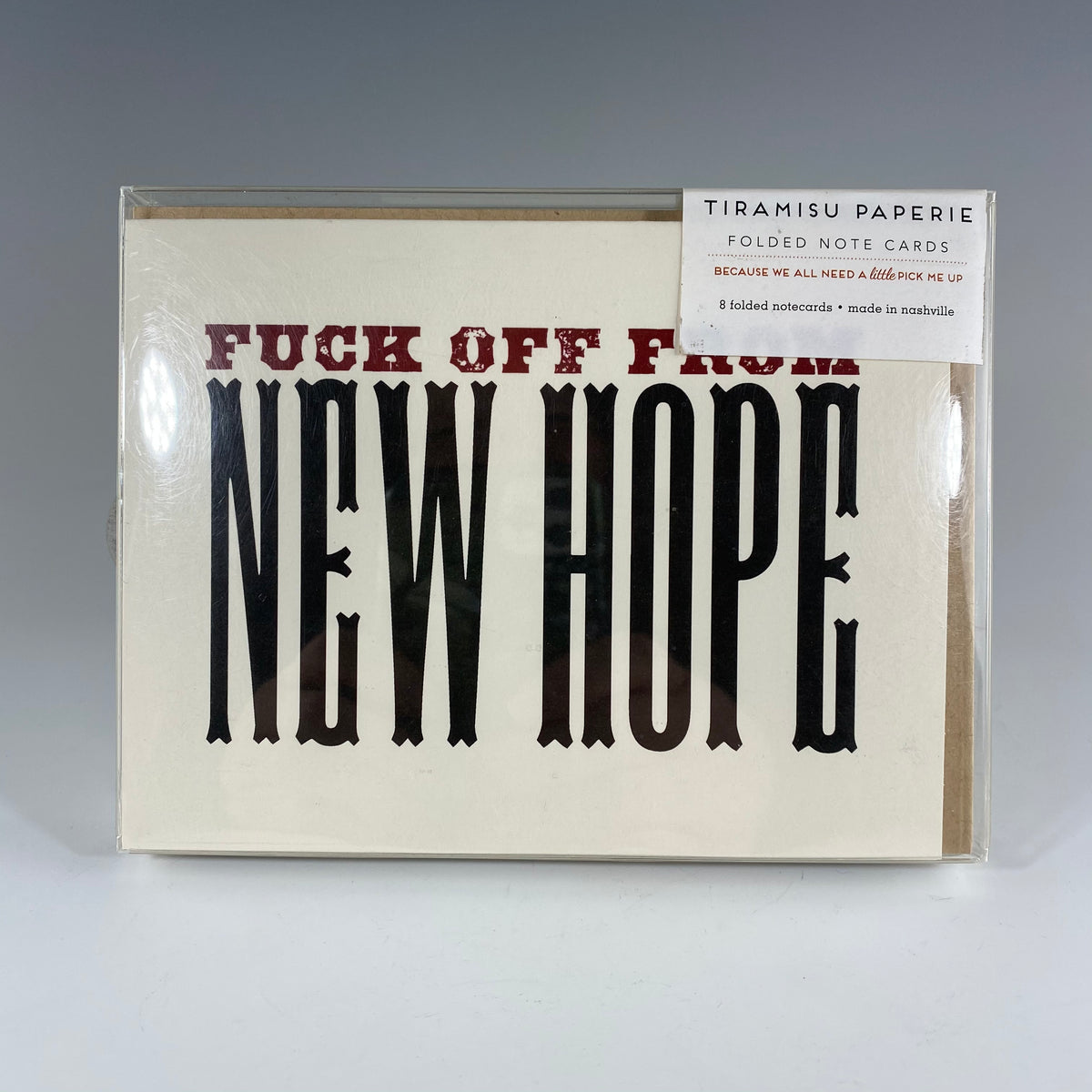 F*ck Off From New Hope Notecard Set - Heart of the Home PA