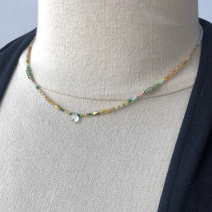 Quartz Droplet Necklace - Heart of the Home PA