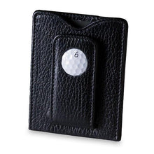 Load image into Gallery viewer, TPC Sawgrass Golf Ball Money Clip Wallet in Black