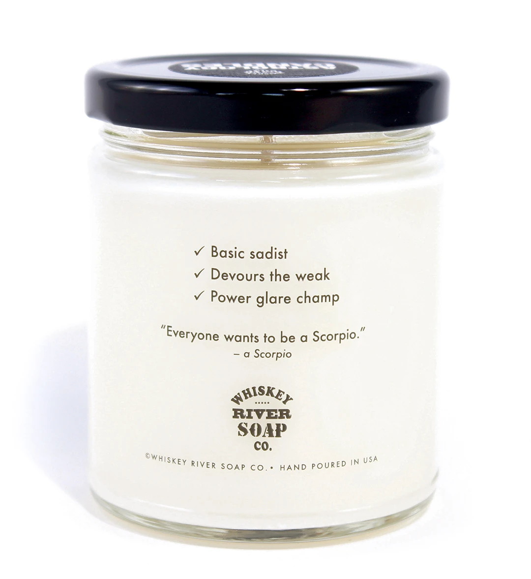Astrology Candle Scorpio - Heart of the Home PA