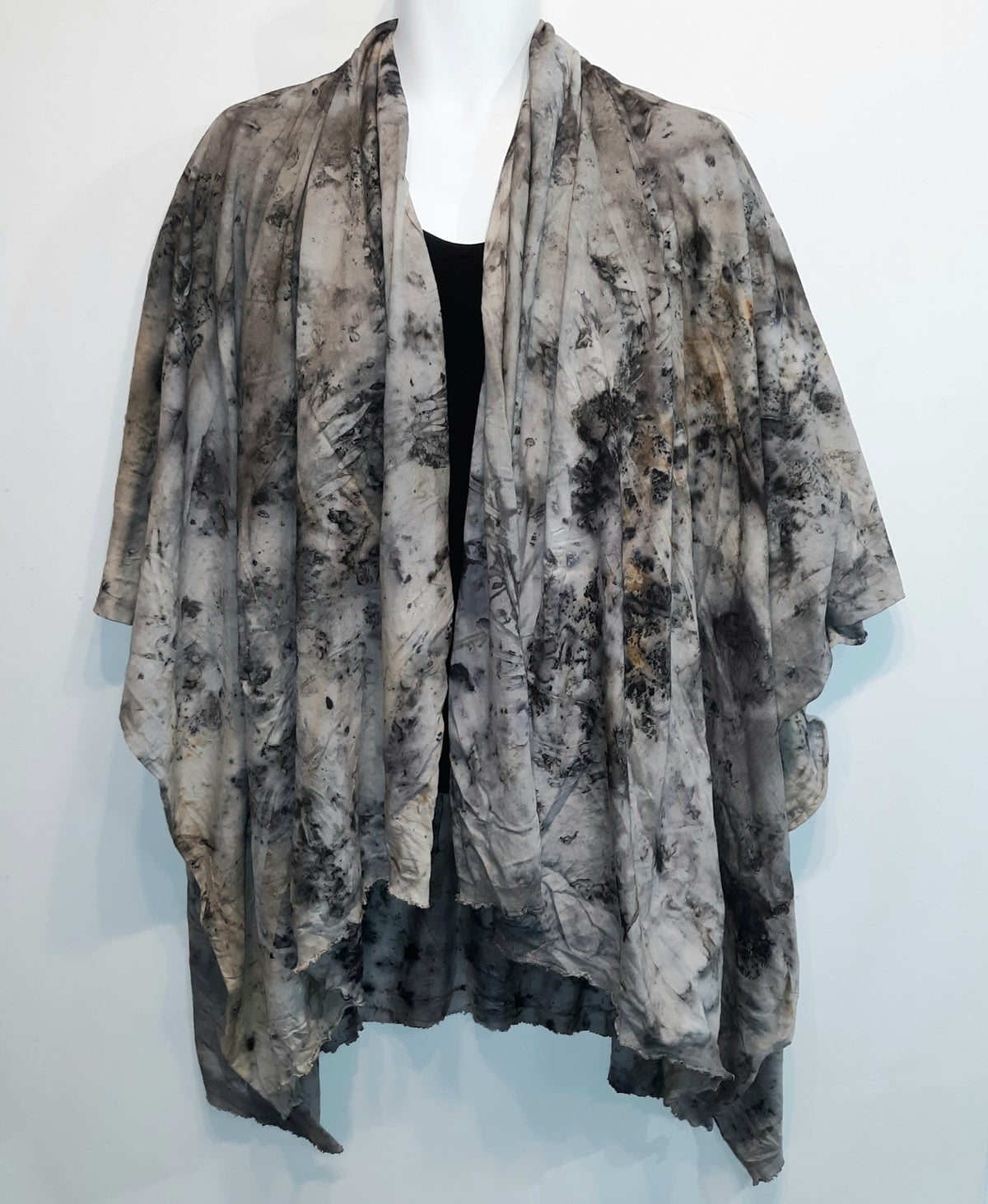 Organic Cotton Shawl Neutral - Heart of the Home PA