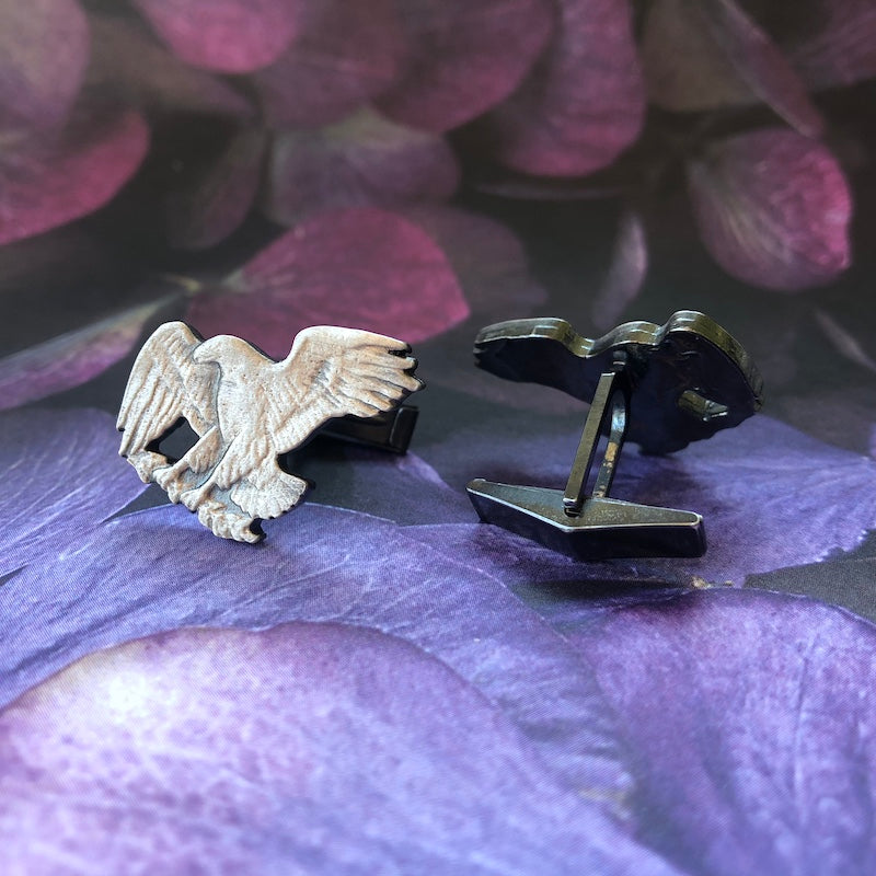 Eisenhower Eagle Cufflinks - Heart of the Home PA